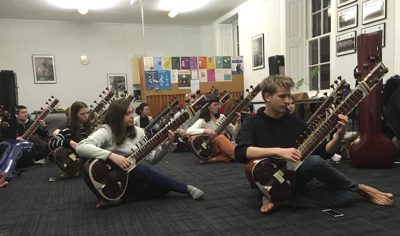 Introduction to sitar - sitar classes in Glasgow 2019